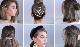 Прически на короткие волосы