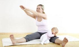 Восстановление физической формы после родов