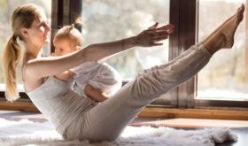 Восстановить форму после родов сложно даже при хорошей физической подготовке