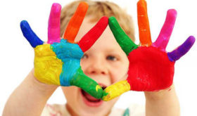 Галерея детского творчества в доме