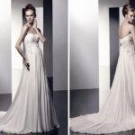 Свадебный наряд в стиле «Империя»